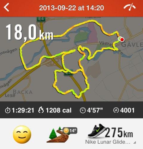 18 kilometer