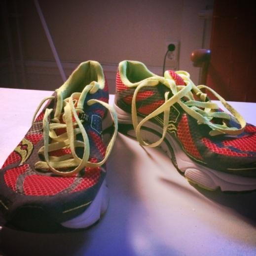 Knyta skorna